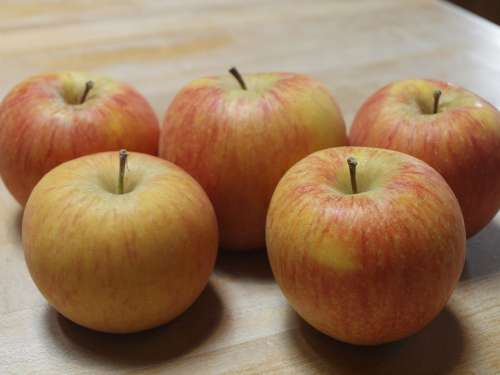 Apple Fruit Healthy Diet Eat Food Vitamins