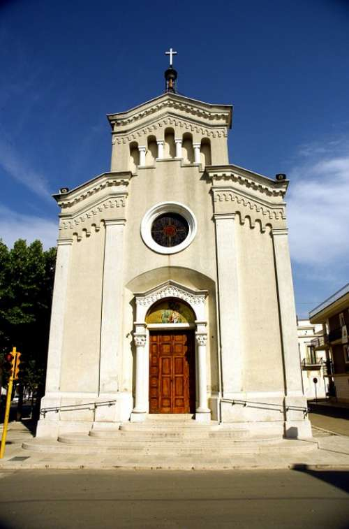 Apricena South Gargano Puglia Country City Church