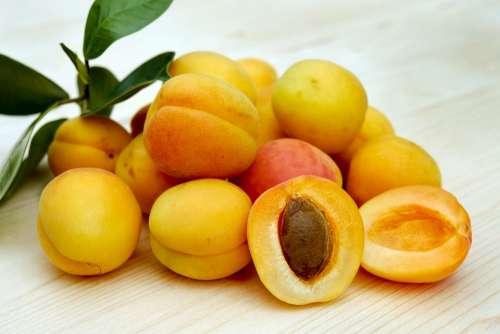 Apricots Sugar Apricots Fruit Fruits Sweet Fresh