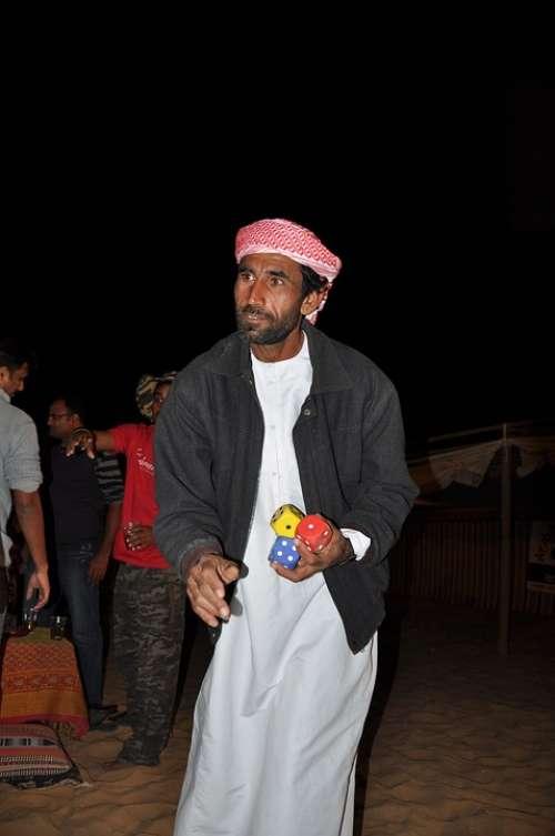 Arabs Cube Man Person