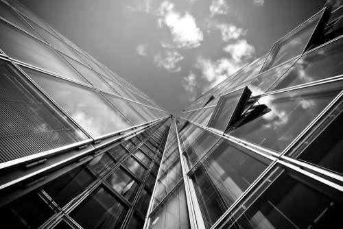 Architecture Skyscraper Glass Facades Modern