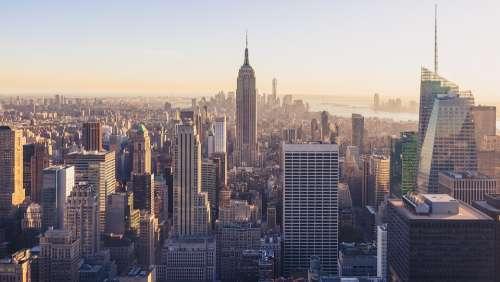 Architecture New York City Manhattan Buildings City