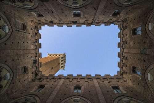 Architecture Building Castle Low Angle Shot
