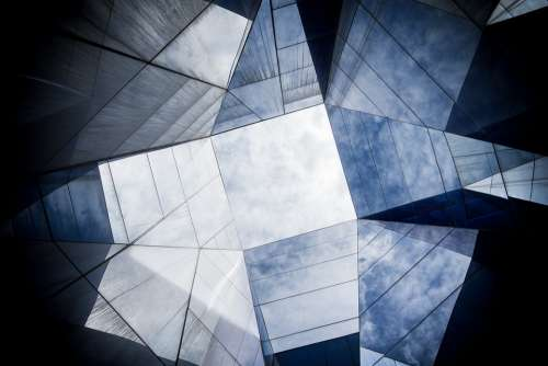 Architecture Building Geometric Glass