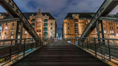 Architecture Bridge Building Travel City