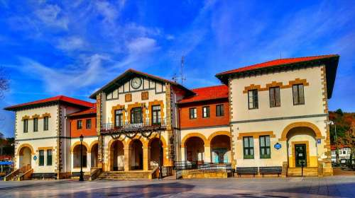 Architecture Building Facade Urban Plencia