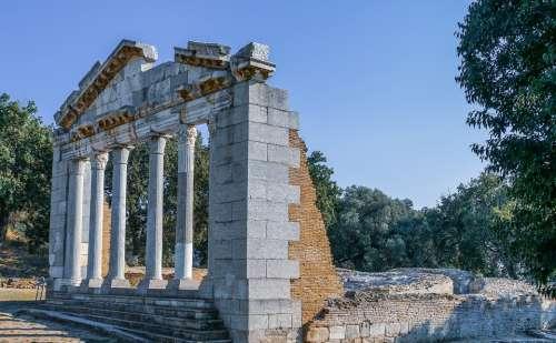 Architecture Unesco Apollonia Fier Albania