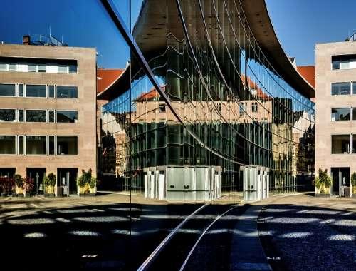 Architecture New Museum Facade Glass Facade
