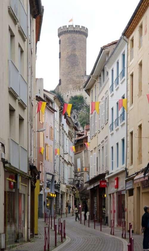 Architecture Medieval Foix Ariège