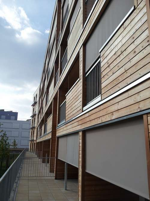 Architecture Building Bbc Cladding Wood