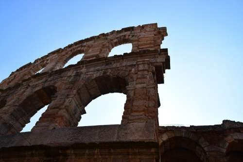 Arena Verona With The Opening Of The Arena