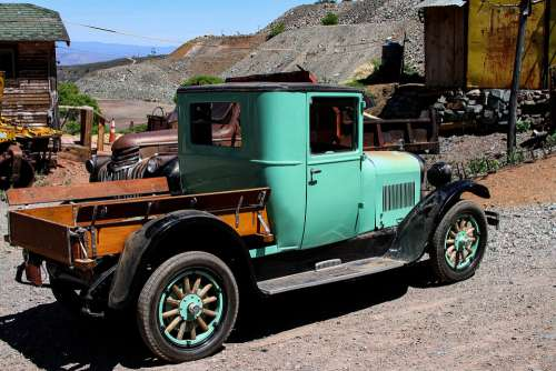 Arizona Mine Antique Truck Usa Outdoors Jerome