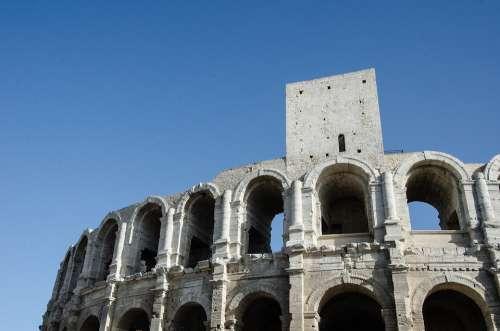 Arles France Monument Historically Unesco