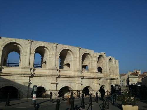 Arles Arena Architecture