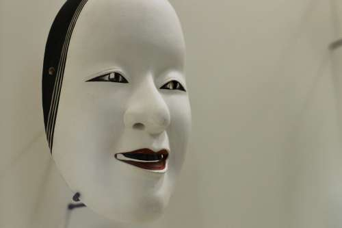 Asia Face Art Mask Chief Japan Eastern