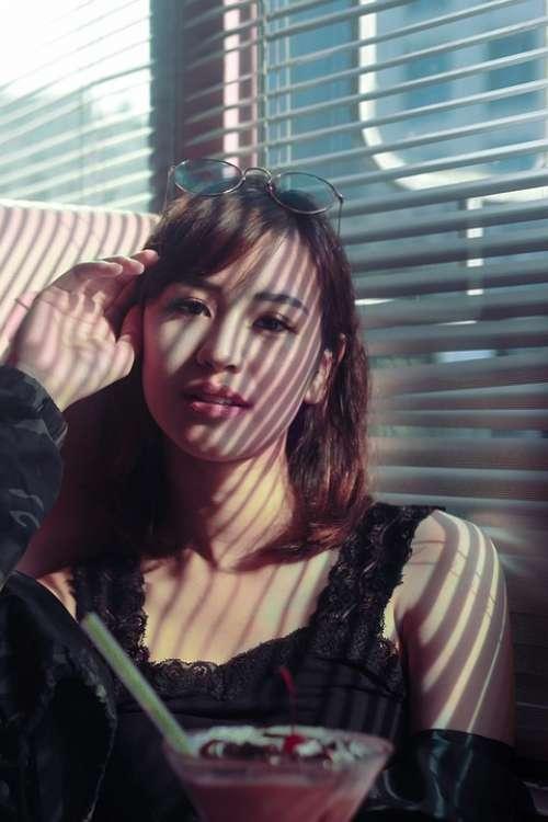 Asian Japan Oriental Model Girl Female