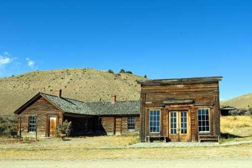 Assay Office In Bannack Montana Bannack Ghost Town