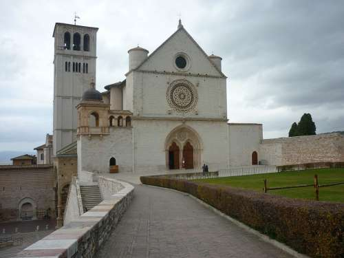 Assisi Umbria Basilica St Francis Of Assisi