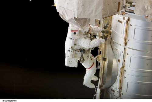 Astronaut Spacewalk Iss Tools Suit Pack Tether