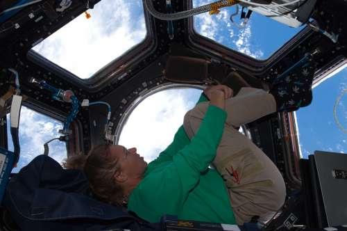 Astronaut Cupola International Space Station