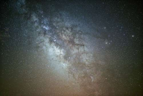 Astronomy Milky Way Constellation Exploration