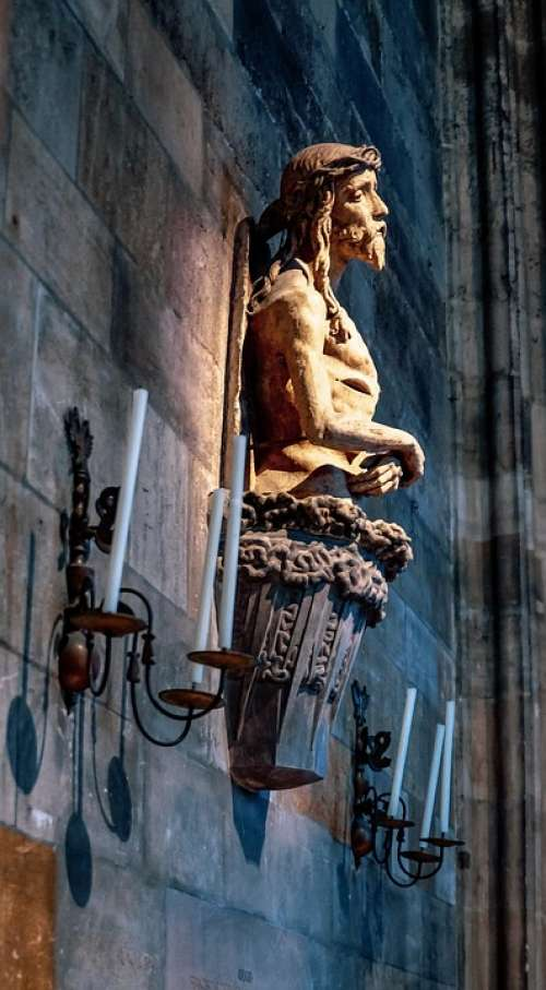 Austria Vienna St Stephan'S Cathedral Sculpture