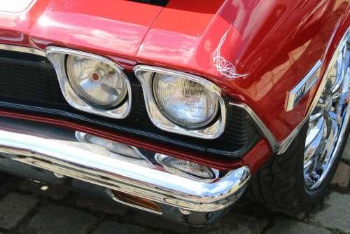 Auto Retro Classic Old Vehicle Car Nostalgia