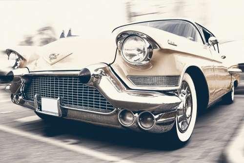 Auto Car Cadillac Oldtimer Automotive Vehicle