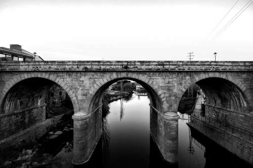 Avila Bridge River Architecture City Urban Cities