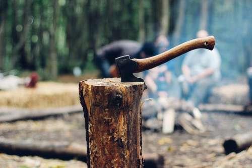 Axe Timber Wood Tool Tree Lumberjack Equipment