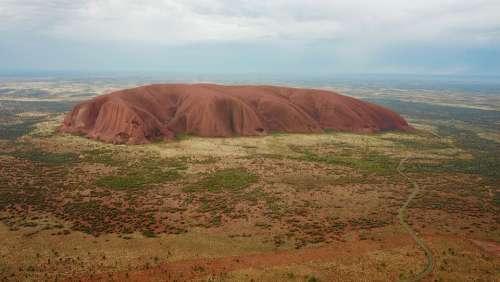 Ayer'S Rock Uluru Australia Outback Nature