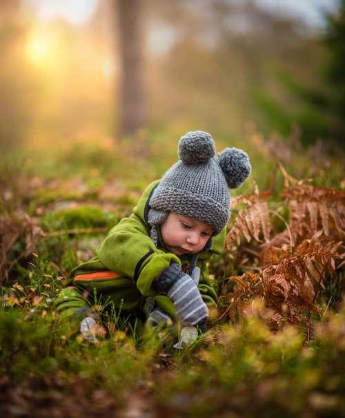 Baby Blur Bonnet Child Childhood Close-Up Cute