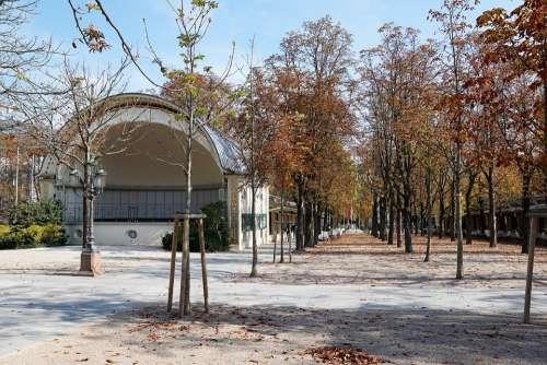 Baden Baden Pump Room Architecture Summer Park