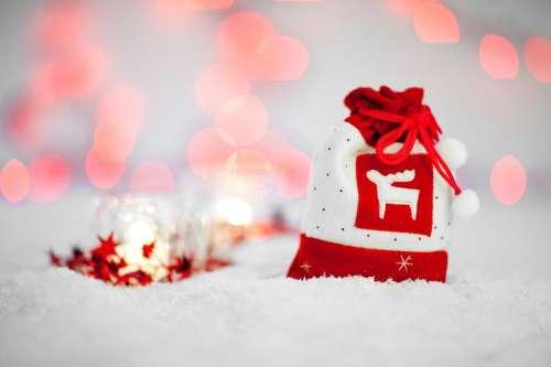 Bag Celebration Christmas December Decoration