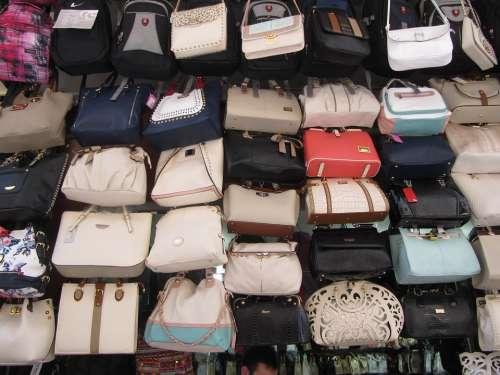 Bags Market Turkey Istanbul Pattern