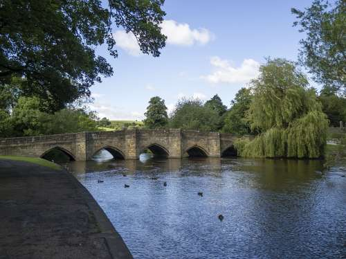 Bakewell England Bridge