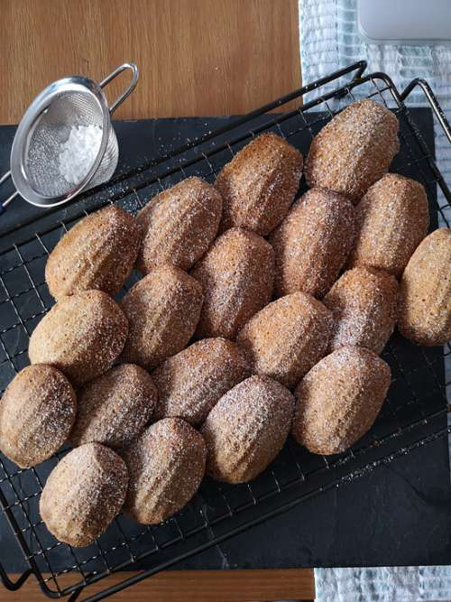 Baking Madelines Cakes