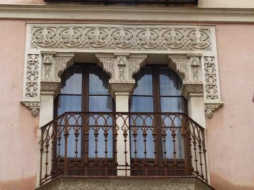 Balcony Toledo Spain Castile Window Facade