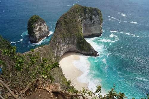 Bali Sea Beach Indonesia Water Vacations Summer