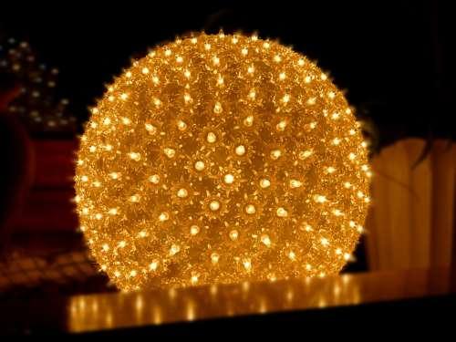 Ball Light Christmas Lights Mood Lamp