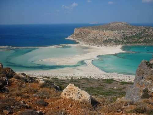 Balos Crete Greece Island