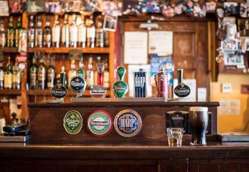 Bar Local Cong Ireland Irish Pub Pub Bottles