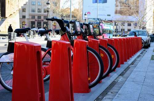 Barcelona Bicycles Sharing Tr Share Bike Cycling
