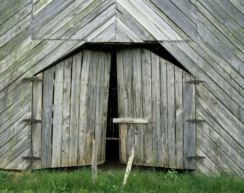 Barn Old Weathered Rustic Vintage Rural Country
