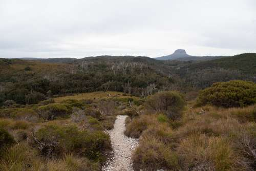 Barn Bluff Overland Track Tasmania Wilderness