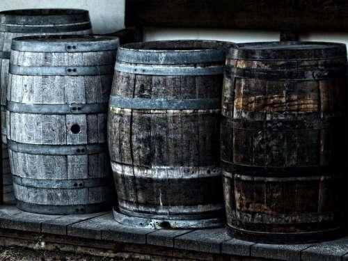 Barrel Kegs Wooden Heritage Cask Wine Alcohol