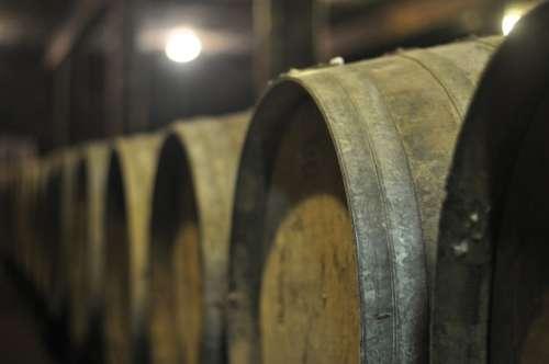 Barrels Wine Cellar Cave Wood Barrel Winery