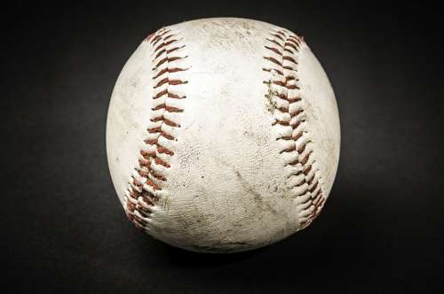 Baseball Dirty Sport Ball Old Vintage Used