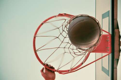 Basketball Hoop Basket Slam Dunk Ball Sport Game