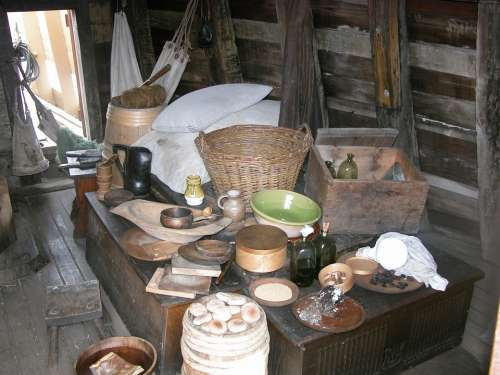 Baskets Crockery Stores History Storage Bread